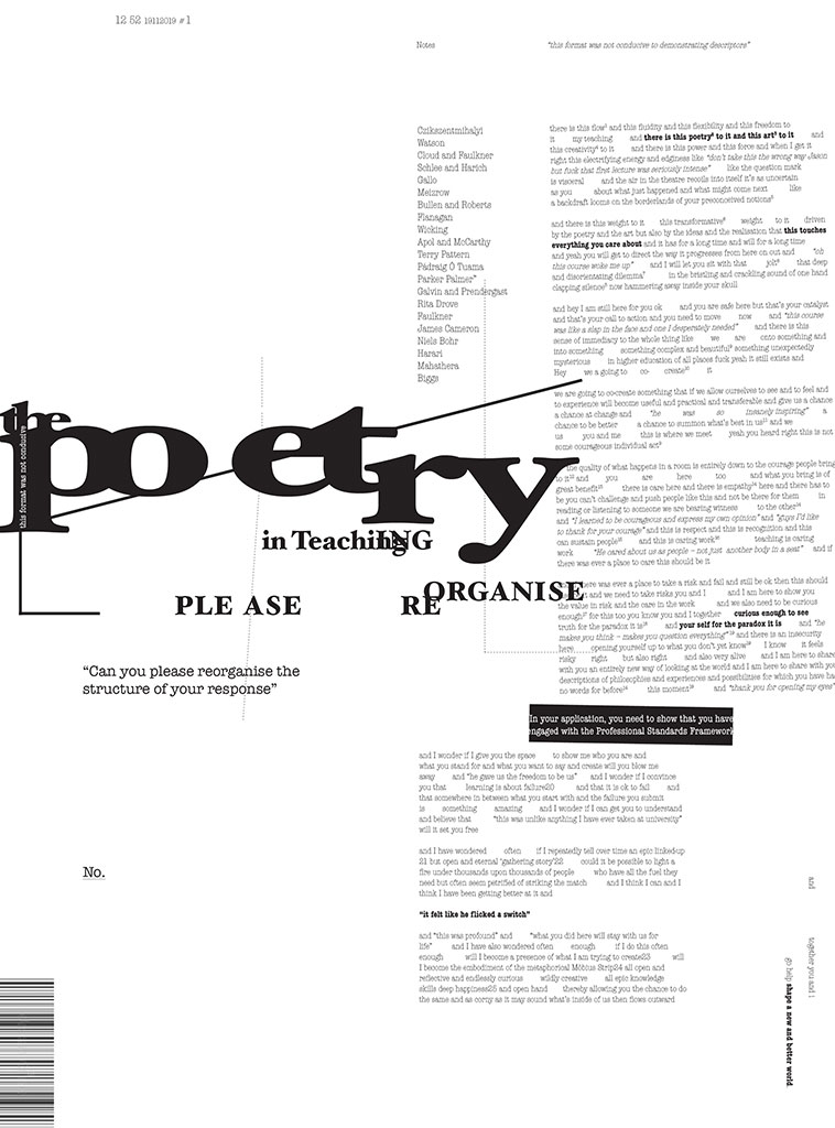 The Poetry In Teaching